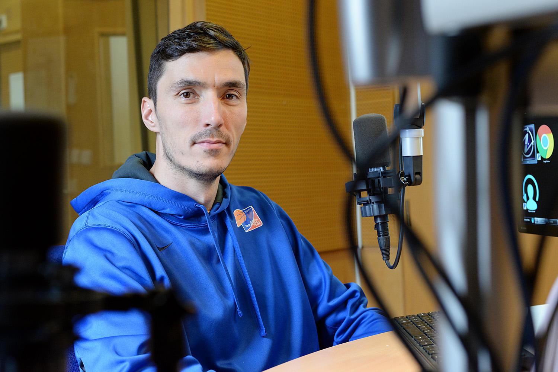 Basketbalista Jiří Welsch