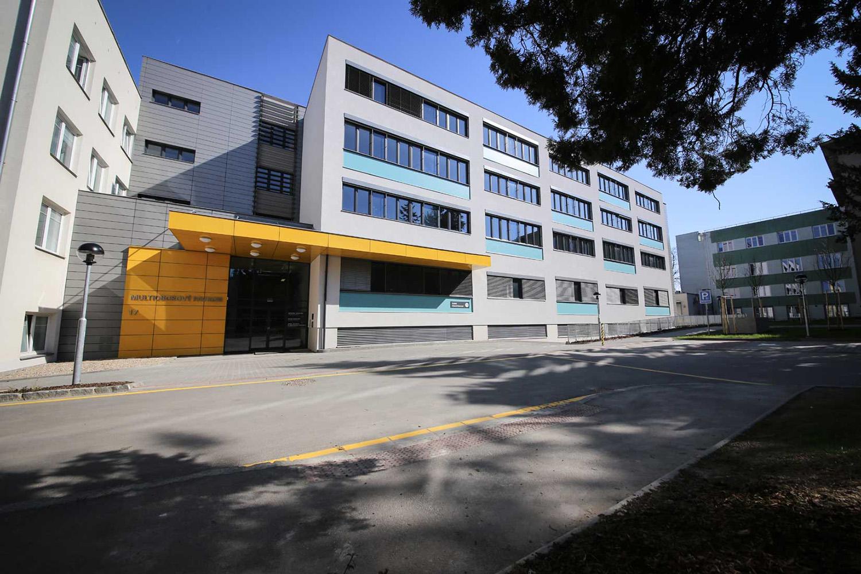 Krajská nemocnice Pardubice, multioborový pavilon