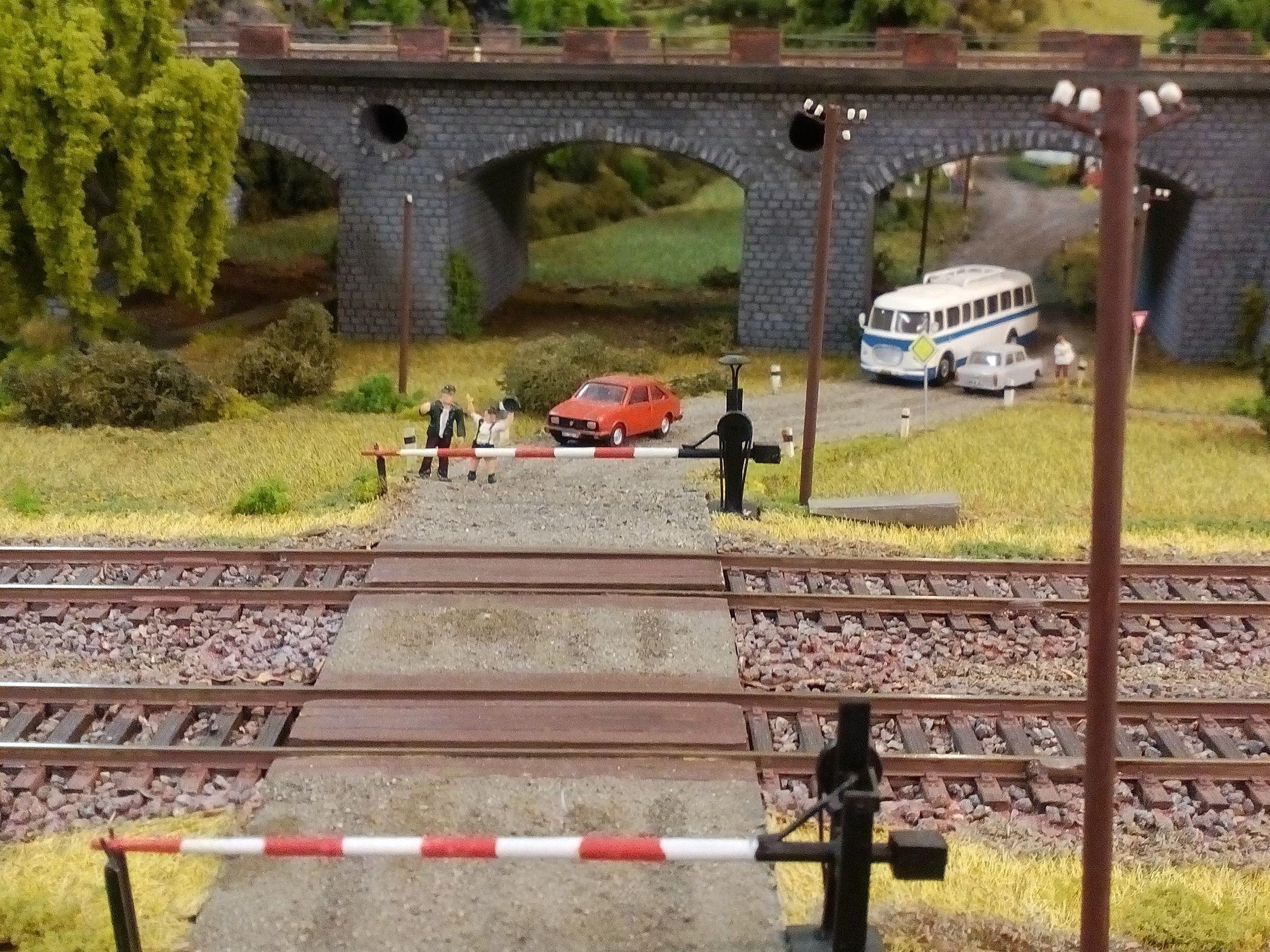 Modelové kolejiště libereckých železničních modelářů