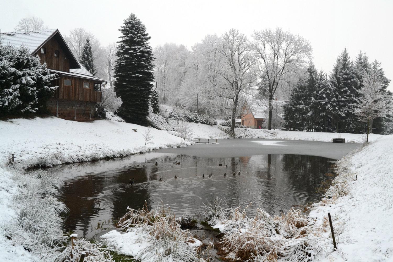 Jedno z romantických zákoutí obce Písečná