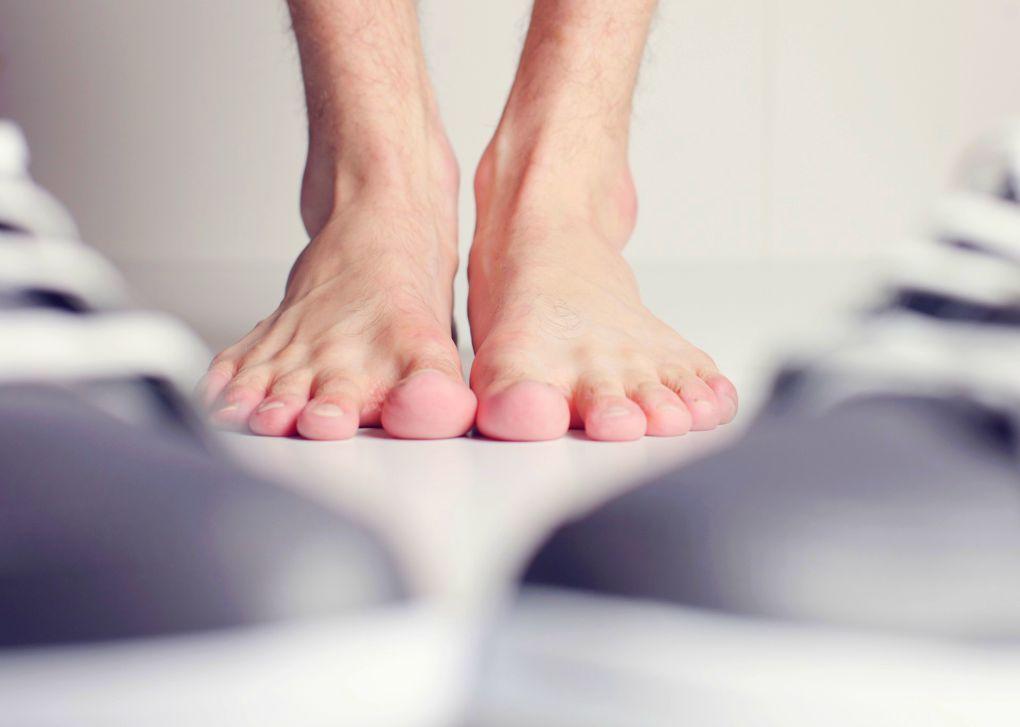 Bosé nohy (ilustrační foto)