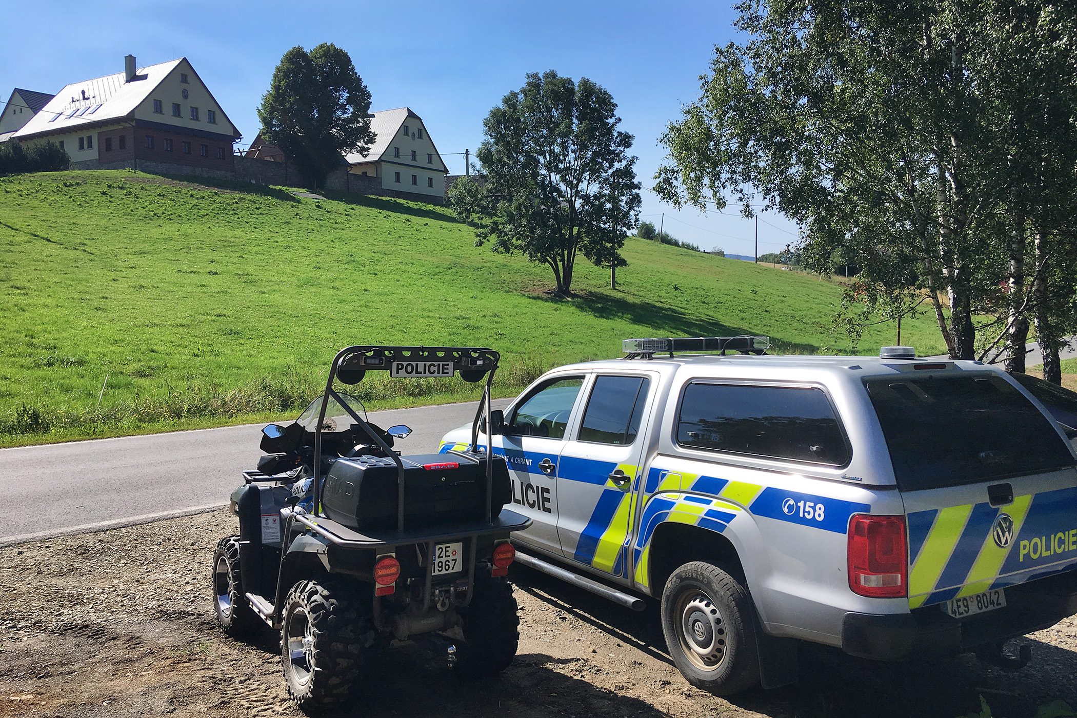 Nová policejní služebna na Dolní Moravě