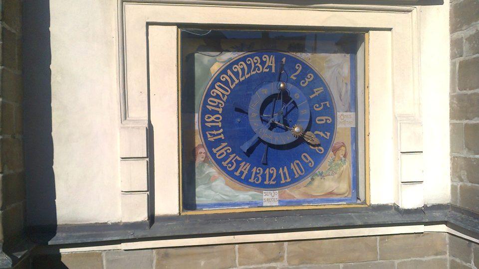 V roce 2010 prošel litomyšlský orloj opravou a čištěním