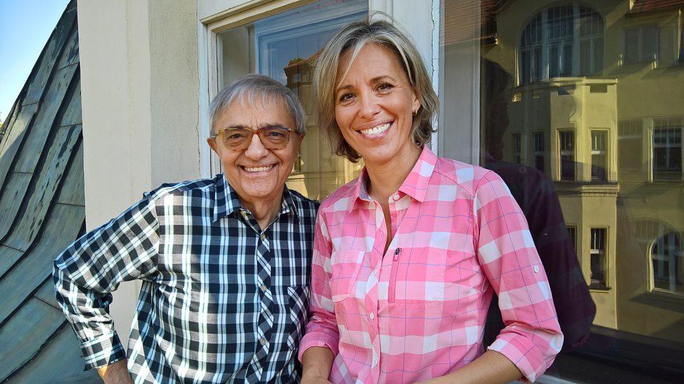 Miloň Čepelka s Alenou Zárybnickou
