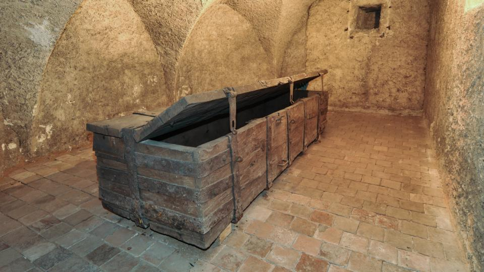 Pernštejnská truhla byla vyrobena na konci 15. století