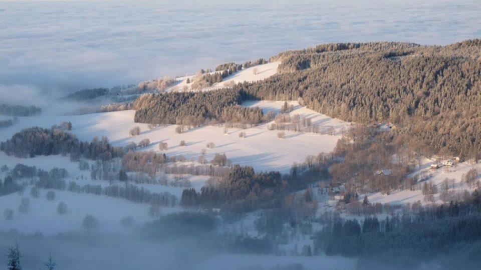 Okouzlující přírodní scenérie by měly nalákat návštěvníky do nového rekreačního areálu v Dolní Moravě nejen v zimě, ale i v létě