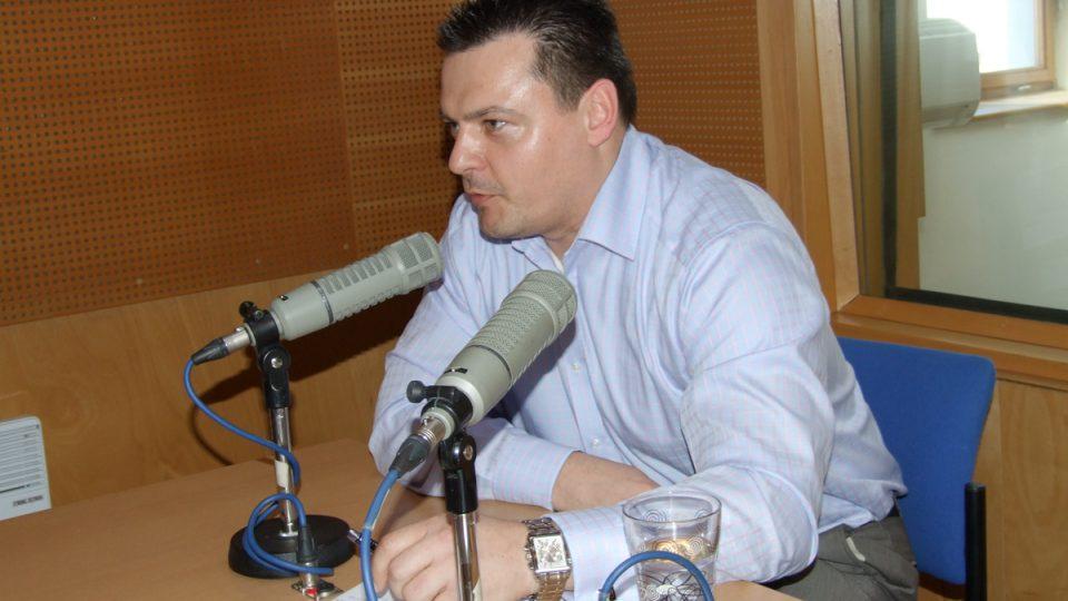 Ředitel Dopravního podniku města Pardubic Tomáš Pelikán