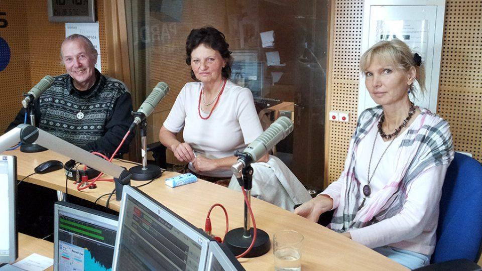 Henri Monfort, Růžena Vaňková a Dana Hájková