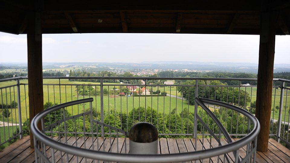 Výhled z rozhledny Terezka