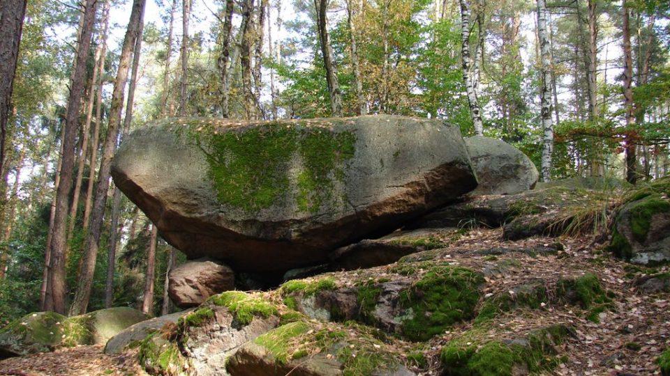 Geopark Železné hory - Obří postele