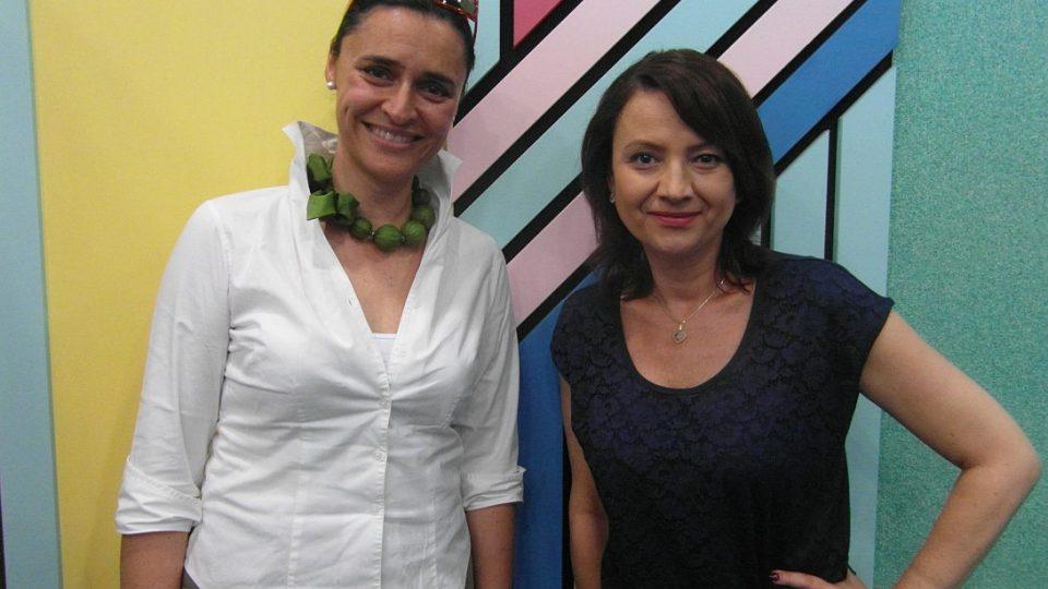 Edita Adlerová a Jolana Voldánová