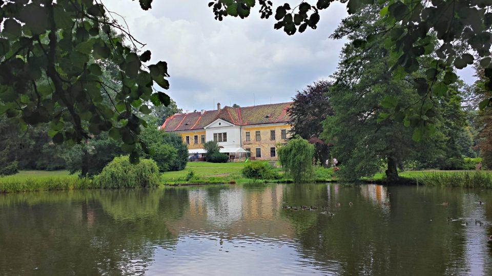 Choltice, zámecký rybník Zrcadlo
