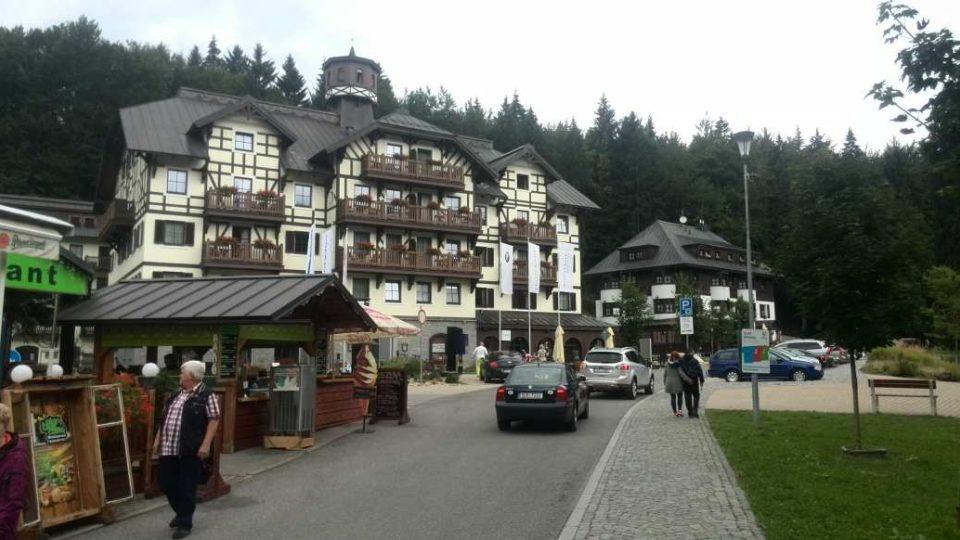 Špindlerův Mlýn - horské hotely a pensiony