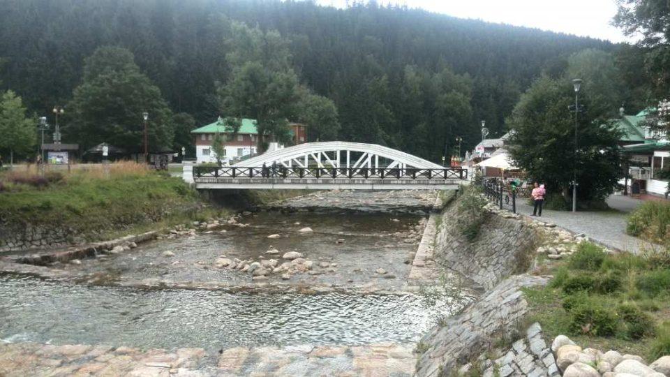 Špindlerův Mlýn - tzv. Bílý most