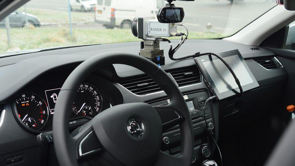 Interiéru dominuje kvalitní kamera