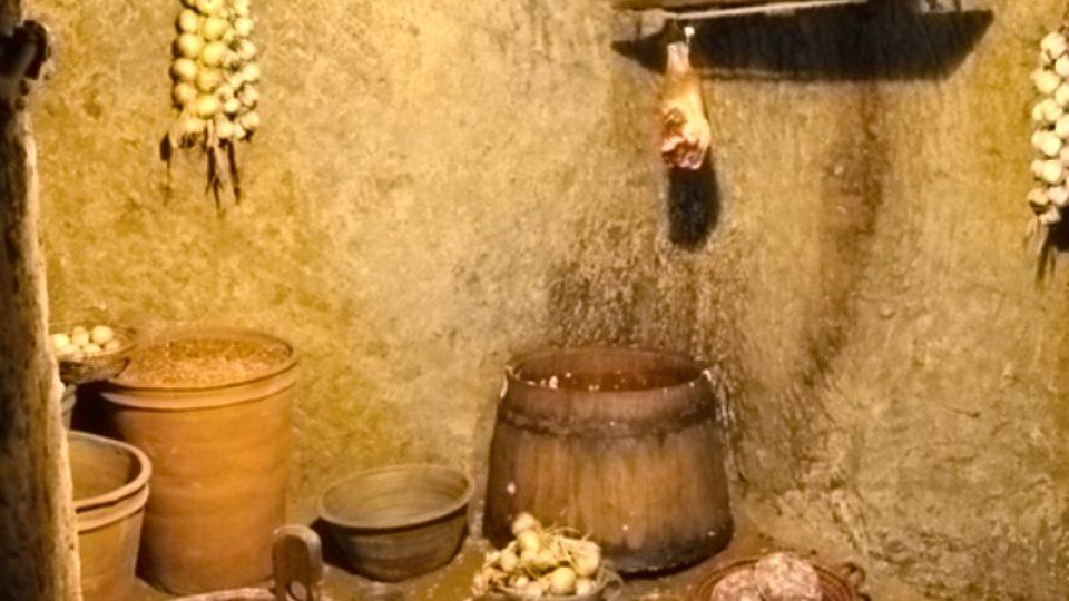 Sklepy byly ideální pro skladování potravin, zajišťovaly stálou teplotu a díky systému větracích otvorů i relativně nízkou vlhkost