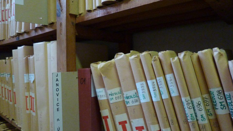 Matriky Státního oblastního archivu v Plzni