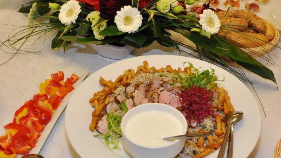 Pokrm připravený Václavem Šmerdou