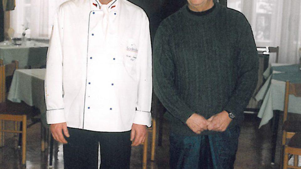 Václav Šmerda a Václav Havel