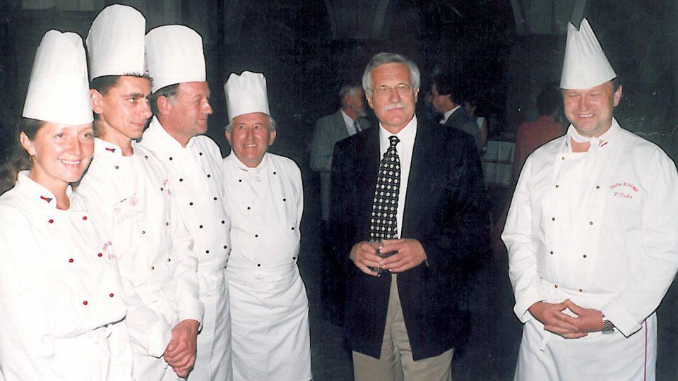 Václav Šmerda a Václav Klaus