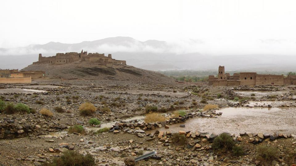 Když na poušti zaprší - Maroko říjen 2014