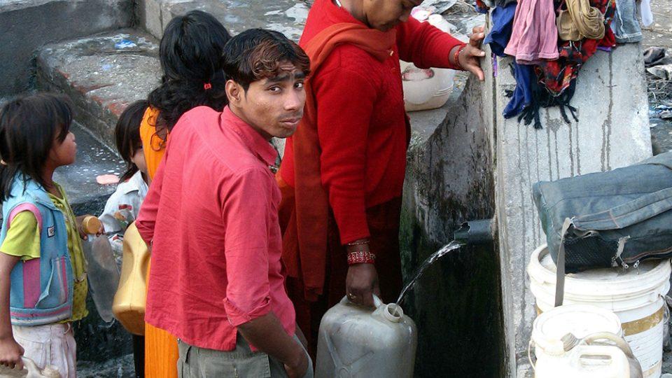 Tady šetří každou kapkou - Pokhara 2007