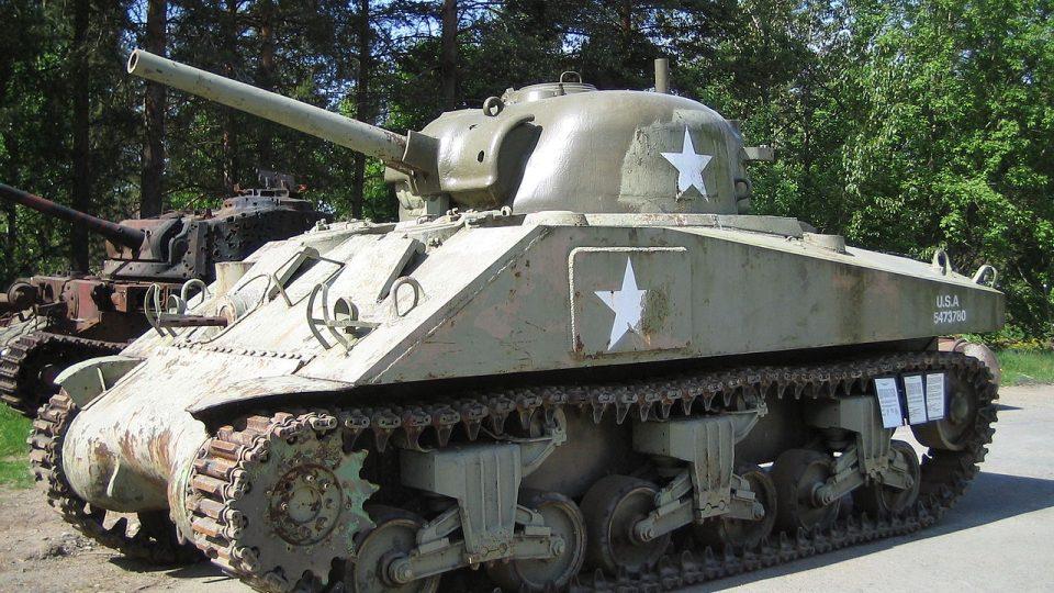 Tank M4 Sherman