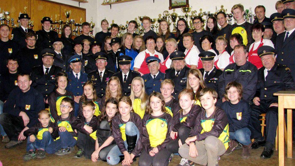 Sbor dobrovolných hasičů Kunčice v roce 2015