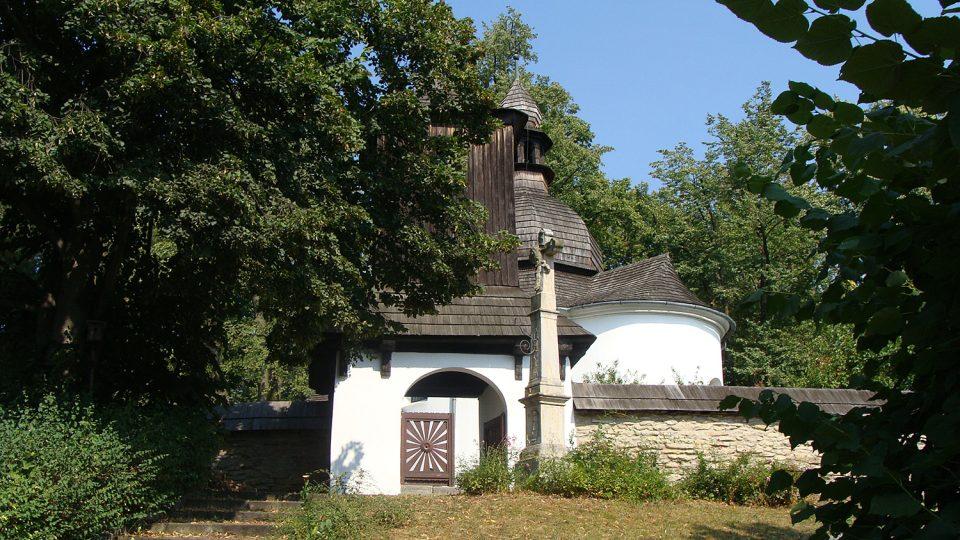 Vstup do areálu Kaple sv. Kateřiny