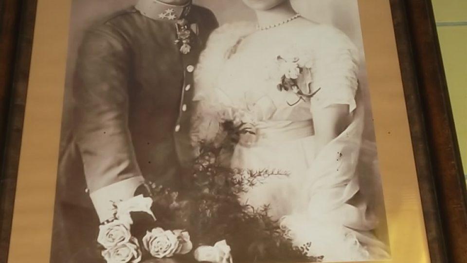 Arcivévodkyně Zita s císařem Karlem I.