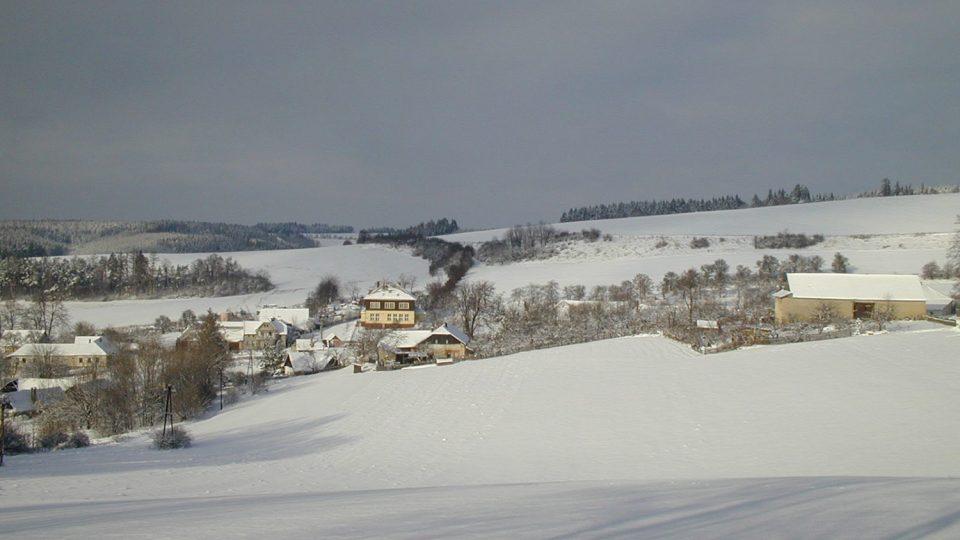 Zimní Želivsko