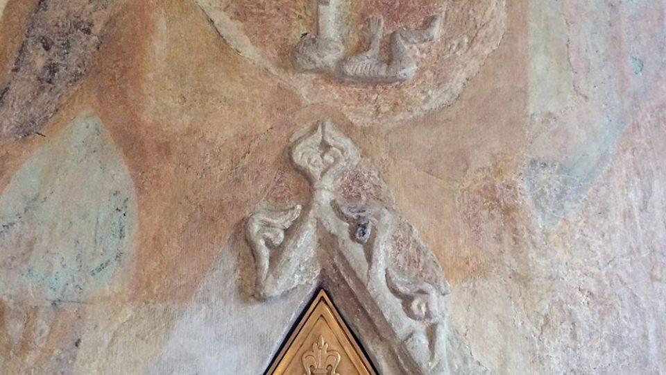 Kamenické práce v kostela sv. Mikuláše jsou velmi vzácné