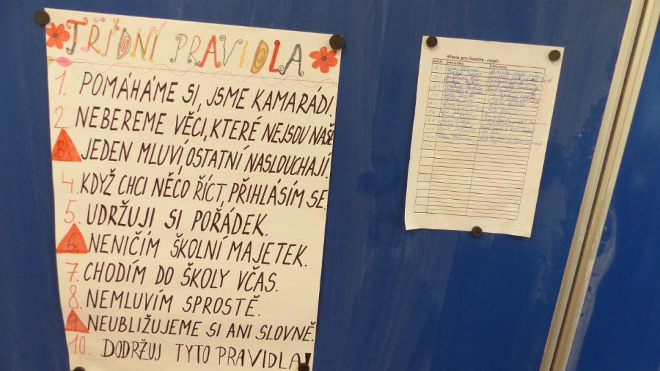 K deseti základním pravidlům ve třídě přibylo i jedenácté. Odevzdání telefonu na začátku školního vyučování