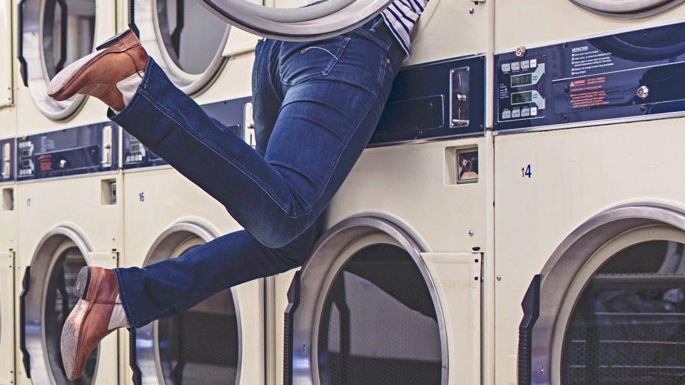 Člověk v pračce
