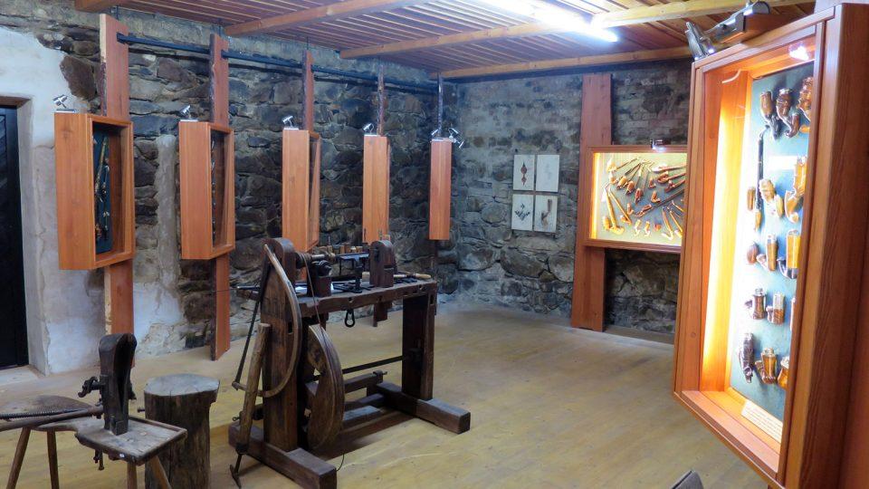 Expozice Muzea dýmek v Proseči