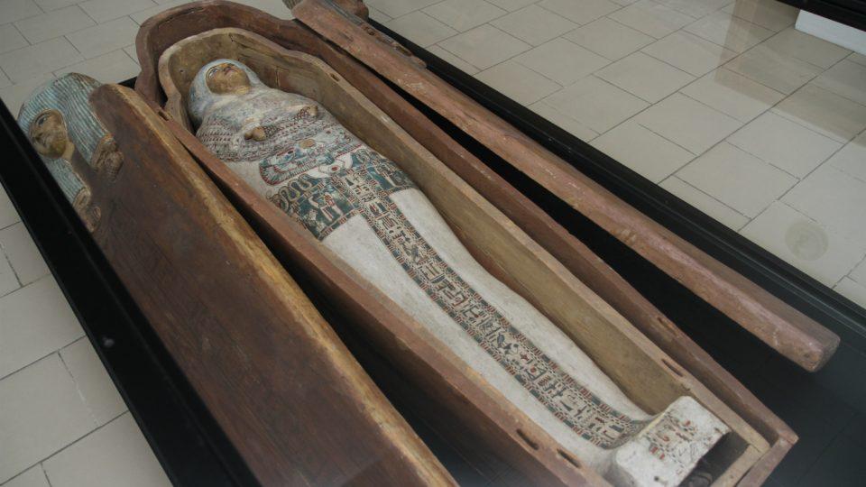 Mumie egyptské princezny Hereret