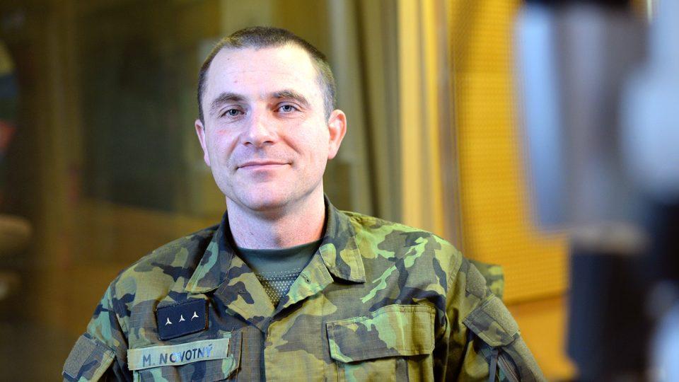 Vojenský kaplan Milan Novotný
