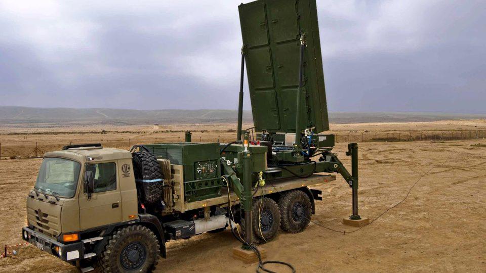 Radar ELTA izraelské společnosti IAI, který byl vybrán pro českou armádu