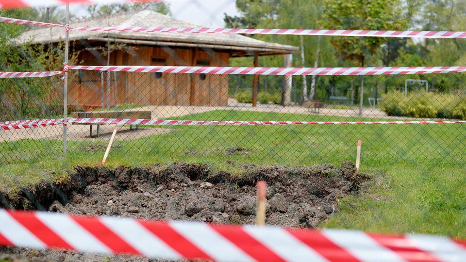 Trampolína bude v Parku Na Špici v blízkosti pavilónu