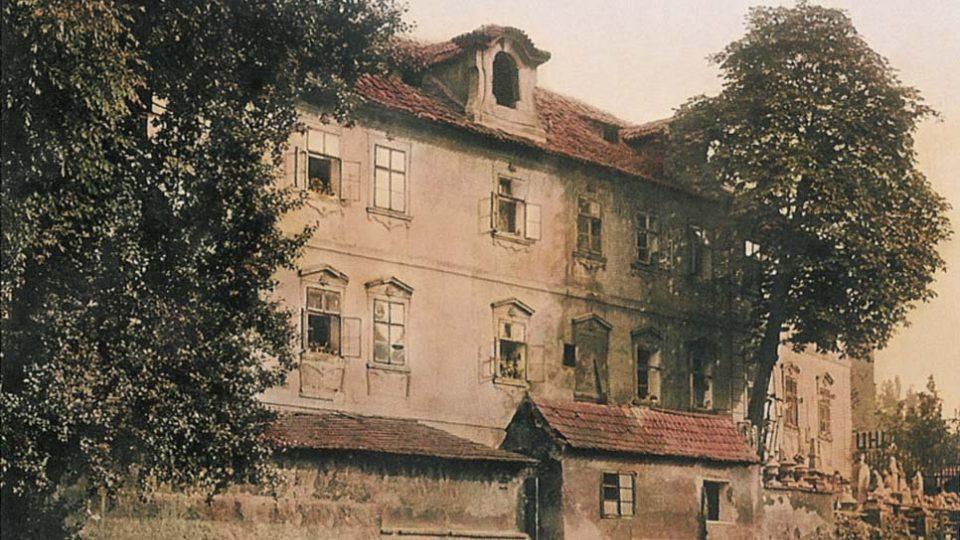 Čertovka v roce 1900