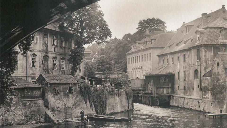 Čertovka v roce 1925