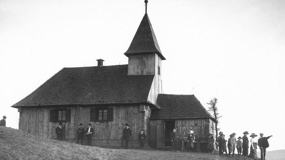 Křížová hora byla oblíbeným výletním místem už v minulosti