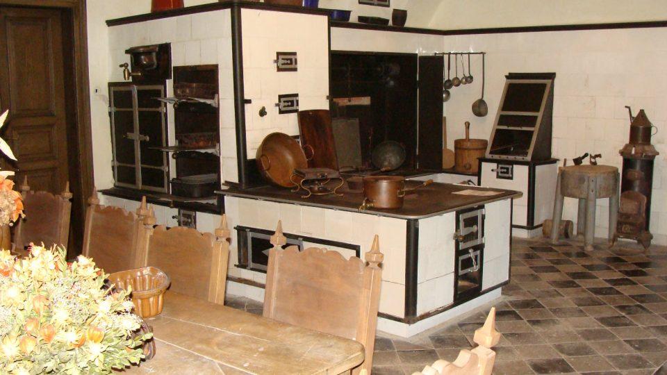 Knížecí kuchyně na zámku ve Slatiňanech