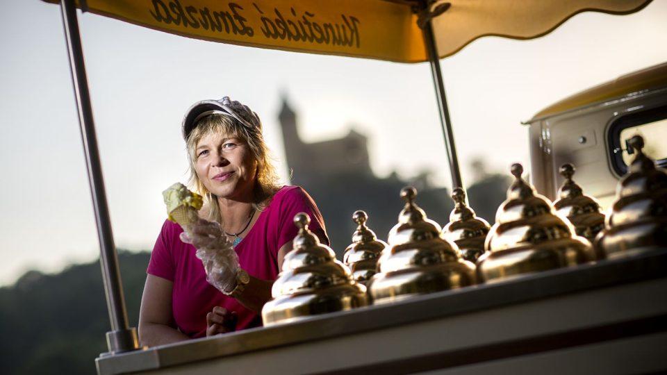 Zmrzlinářka Monika Pavlisová