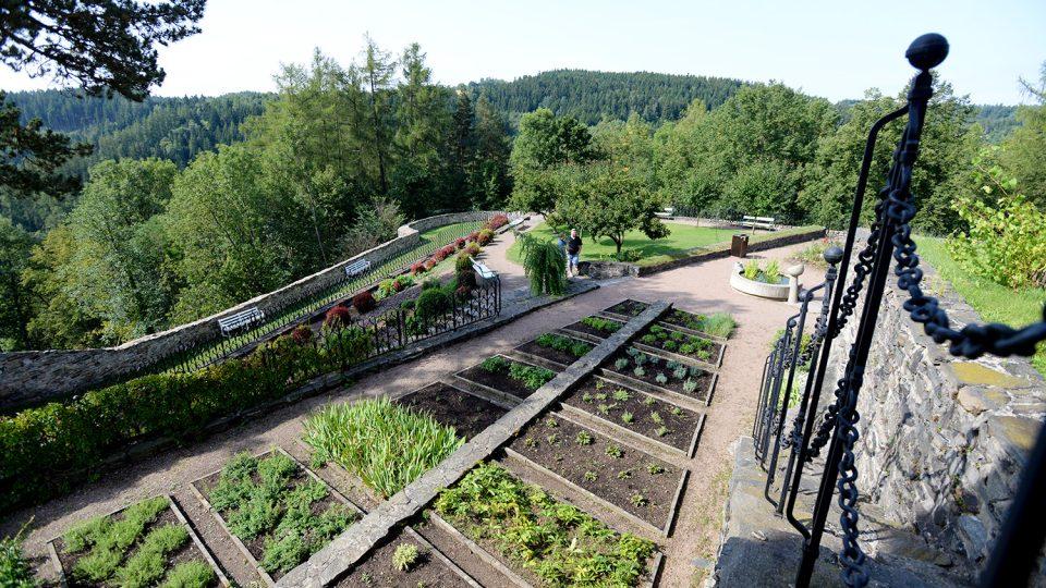 Gotická zahrada na Svojanově vznikla v 15. století