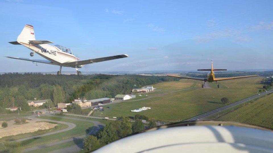 Letiště z pohledu pilota