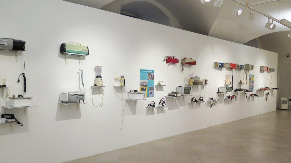 Výstava spotřebičů ETA ve Východočeské galerii