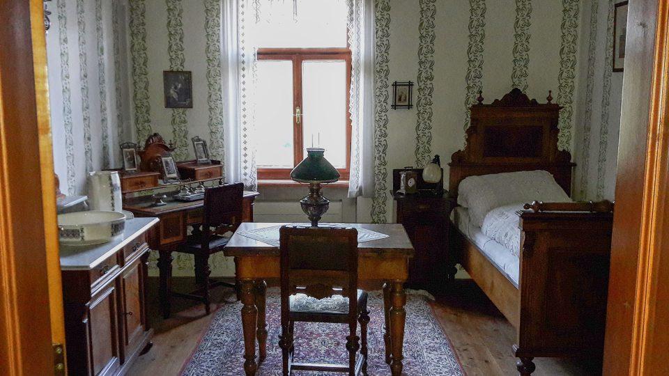 Část Janáčkova domu je zachovaná v co nejvěrnější podobě i s původním interiérem a nábytkem