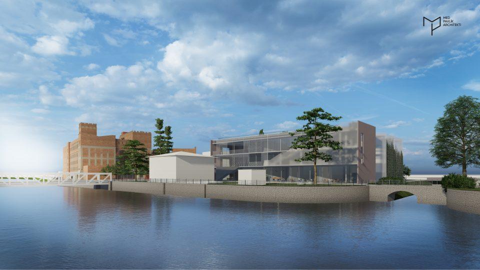 Nový parkovací dům by měl vzniknout naproti Automatickým mlýnům na ploše současného parkoviště