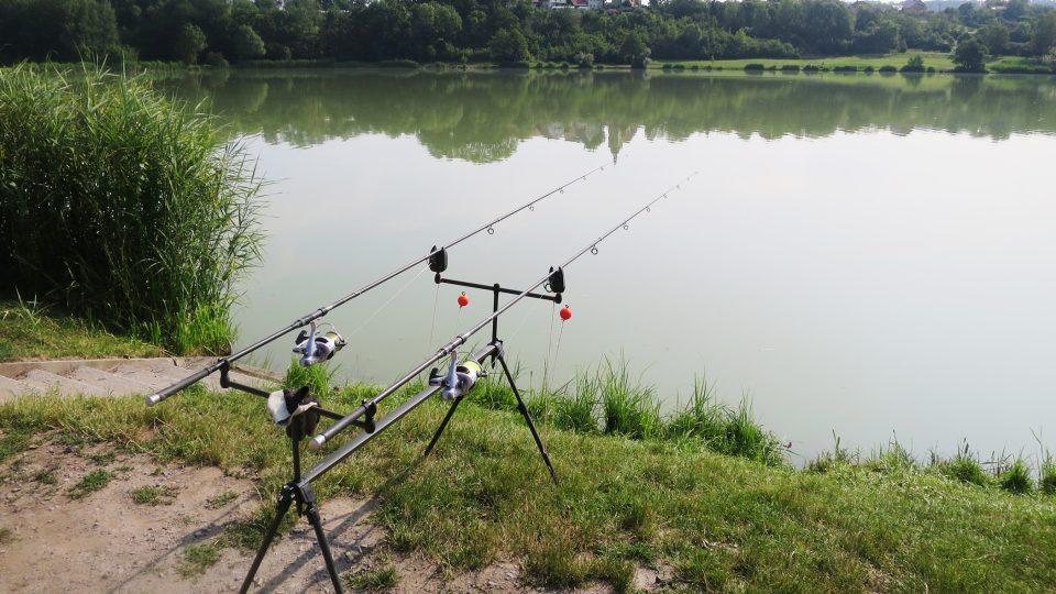Čekání na úlovek - rybník Voletice